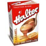 Bonbons sans sucre Halter caramel à Courbevoie
