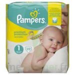 PAMPERS NEW BABY PREMIUM PROTECTION, taille 1, 2 kg à 5 kg, sac 22 à Courbevoie