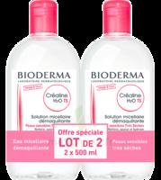 Crealine Ts H2o Solution Micellaire Sans Parfum Nettoyante Apaisante 2fl/500ml à Courbevoie
