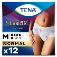 Tena Lady Silhouette Slip Absorbant Blanc Normal Médium Paquet/12 à Courbevoie