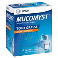Mucomyst 200 Mg Poudre Pour Solution Buvable En Sachet B/18 à Courbevoie