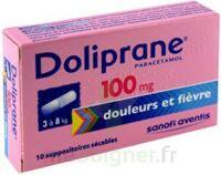 DOLIPRANE 100 mg Suppositoires sécables 2Plq/5 (10) à Courbevoie