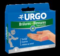 Urgo Brulures-blessures Petit Format X 6 à Courbevoie