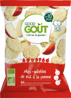 Good Goût Alimentation Infantile Mini Galette De Riz Pomme Sachet/40g à Courbevoie