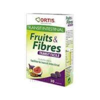 ORTIS FRUITS & FIBRES TRANSIT FACILE COMPRIME, bt 30 à Courbevoie
