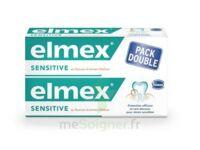 ELMEX SENSITIVE DENTIFRICE, tube 75 ml, pack 2 à Courbevoie