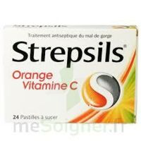 STREPSILS ORANGE VITAMINE C, pastille à Courbevoie