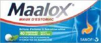 Maalox Hydroxyde D'aluminium/hydroxyde De Magnesium 400 Mg/400 Mg Cpr à Croquer Maux D'estomac Plq/40 à Courbevoie