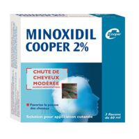 MINOXIDIL COOPER 2 %, solution pour application cutanée en flacon à Courbevoie