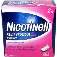 NICOTINELL FRUIT EXOTIQUE 2 mg, gomme à mâcher médicamenteuse Plq/204 à Courbevoie
