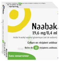 NAABAK 19,6 mg/0,4 ml Collyre en récipient unidose 10Unidoses à Courbevoie