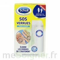 Scholl SOS Verrues traitement pieds et mains à Courbevoie