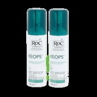 Roc keops déodorant fraîcheur 100ml x2 à Courbevoie