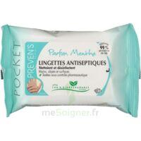 PREVEN'S Lingette antiseptique menthe à Courbevoie