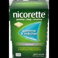 NICORETTE MENTHE FRAICHE 2 mg SANS SUCRE, gomme à mâcher médicamenteuse édulcorée au xylitol et à l'acésulfame potassique à Courbevoie