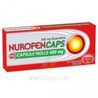 NUROFENCAPS 400 mg Caps molle Plq/10 à Courbevoie