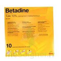 BETADINE TULLE 10 POUR CENT, pansement médicamenteux à Courbevoie