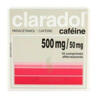 Claradol Cafeine 500 Mg/50 Mg, Comprimé Effervescent à Courbevoie