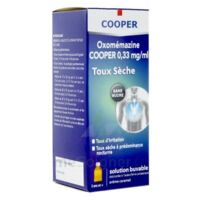 OXOMEMAZINE H3 SANTE 0,33 mg/ml SANS SUCRE, solution buvable édulcorée à l'acésulfame potassique à Courbevoie