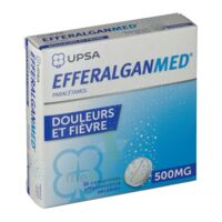 EFFERALGANMED 500 mg, comprimé effervescent sécable à Courbevoie