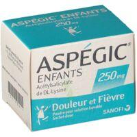 ASPEGIC ENFANTS 250, poudre pour solution buvable en sachet-dose à Courbevoie