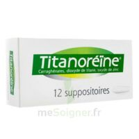 TITANOREINE Suppositoires B/12 à Courbevoie