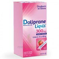 Dolipraneliquiz 300 mg Suspension buvable en sachet sans sucre édulcorée au maltitol liquide et au sorbitol B/12 à Courbevoie