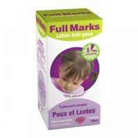 Full Marks Lotion antipoux et lentes 100ml+peigne à Courbevoie