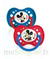 Dodie Disney sucettes silicone +18 mois Mickey Duo à Courbevoie
