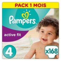PAMPERS ACTIVE FIT, taille 4, maxi, 7 kg à 18 kg, sac 26 à Courbevoie
