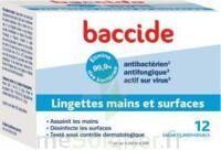 Baccide Lingette désinfectante mains & surface 12 Pochettes à Courbevoie