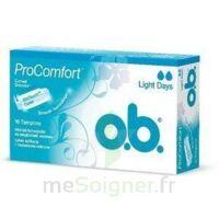 OB PRO COMFORT, light Flow , bt 16 à Courbevoie