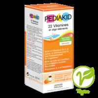Pédiakid 22 Vitamines Et Oligo-eléments Sirop Abricot Orange 125ml à Courbevoie