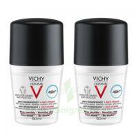 Vichy Homme Déodorant Anti-transpirant Anti Trace 48h 2*billes/50ml à Courbevoie