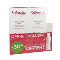 Saforelle Solution Soin Lavant Doux 2*500ml+100ml