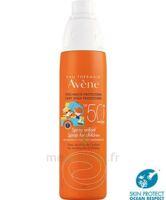 Avène Eau Thermale Solaire Spray Enfant 50+ 200ml à Courbevoie