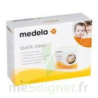 MEDELA QUICK CLEAN, bt 5 à Courbevoie