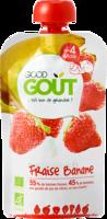 Good Goût Alimentation Infantile Fraise Banane Gourde/120g à Courbevoie