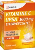 Vitamine C Upsa Effervescente 1000 Mg, Comprimé Effervescent à Courbevoie